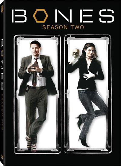 The Cover art for the DVD of Season 2 of Bones