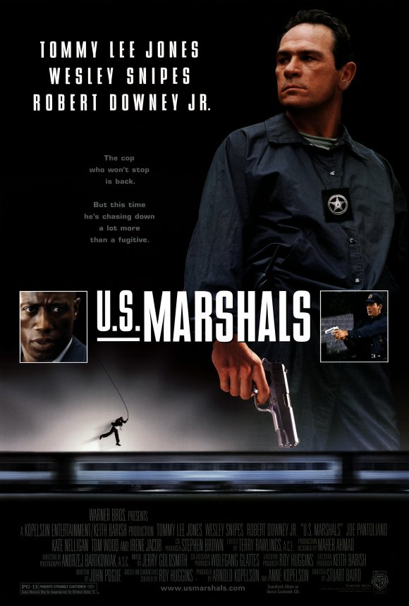 The Movie Poster for US Marshals