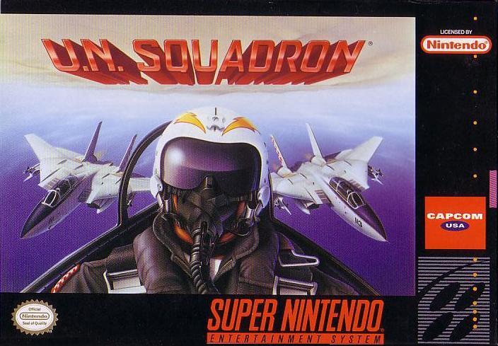 UN Squadron Box art
