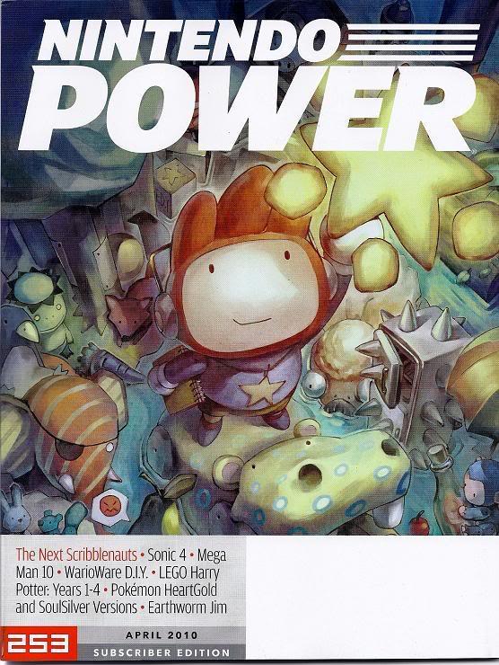 Cover Art for Nintendo Power #253 for April of 2010