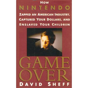 """Cover art for """"Game Over"""" by David Sheff - 1st Edition"""