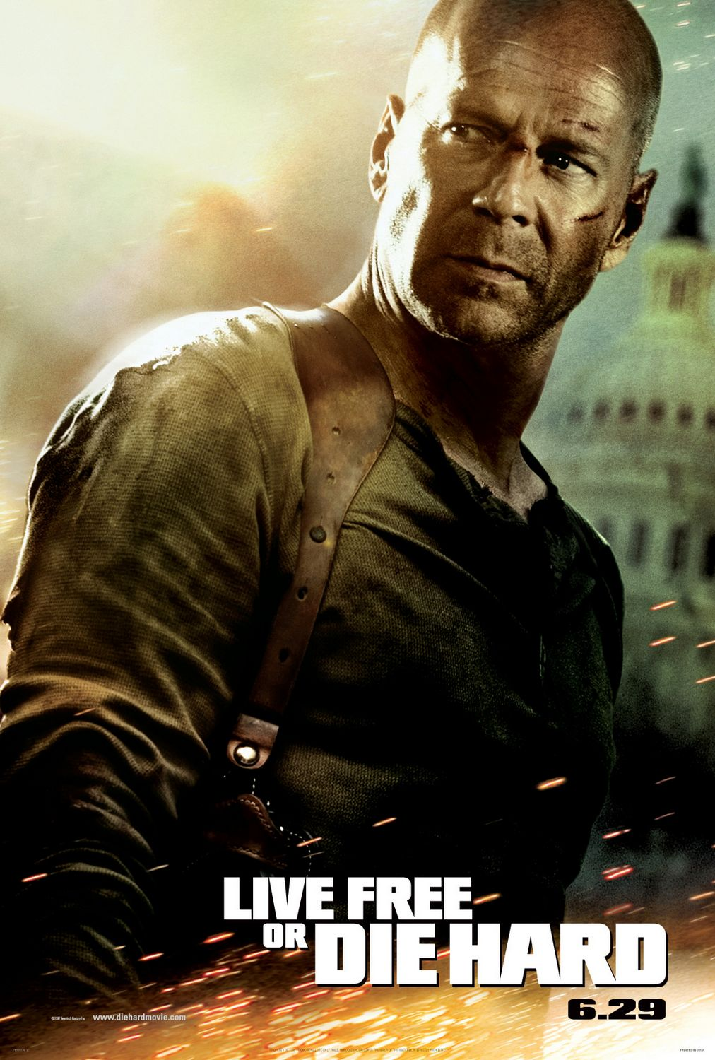 Movie Poster for Live Free or Die Hard