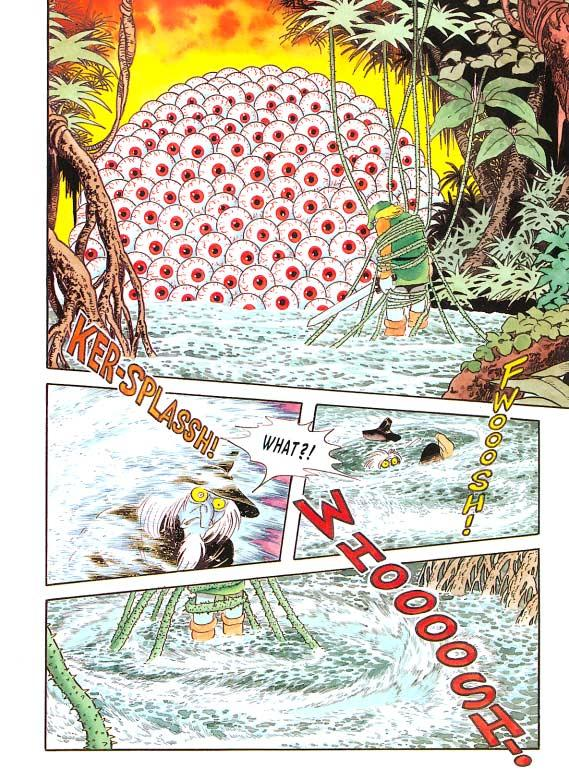 A page from the Legend of Zelda comic.