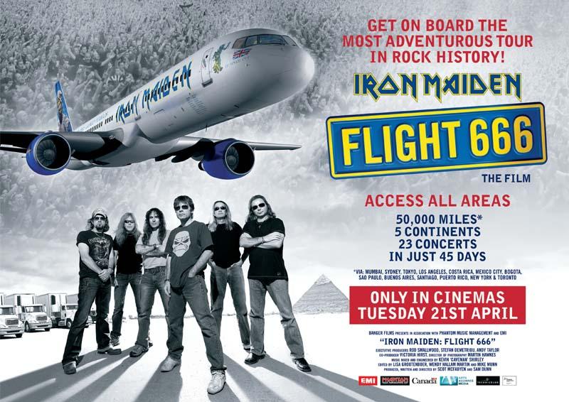 Movie Poster for Iron Maiden: Flight 666