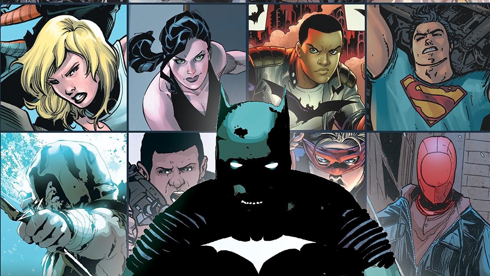 Excerpt of the cover of DC Comics Zero Year