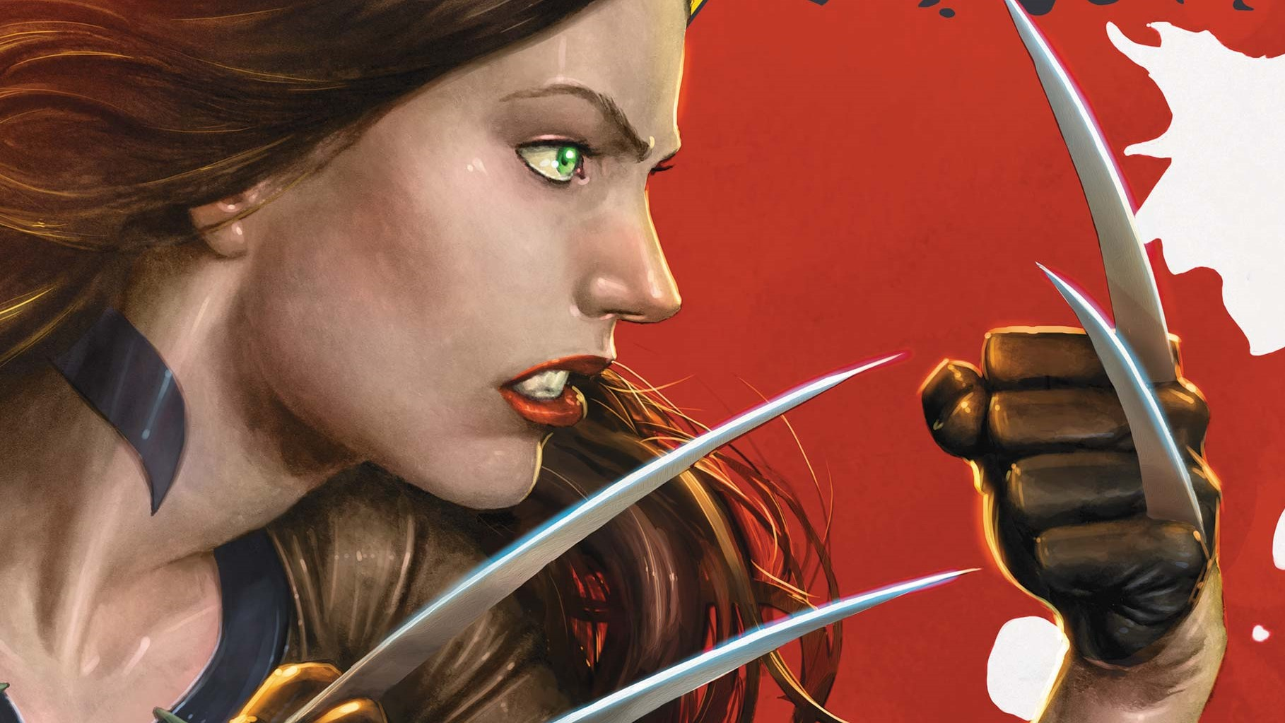 Laura Kinney, cropped from the cover of X-23 #1