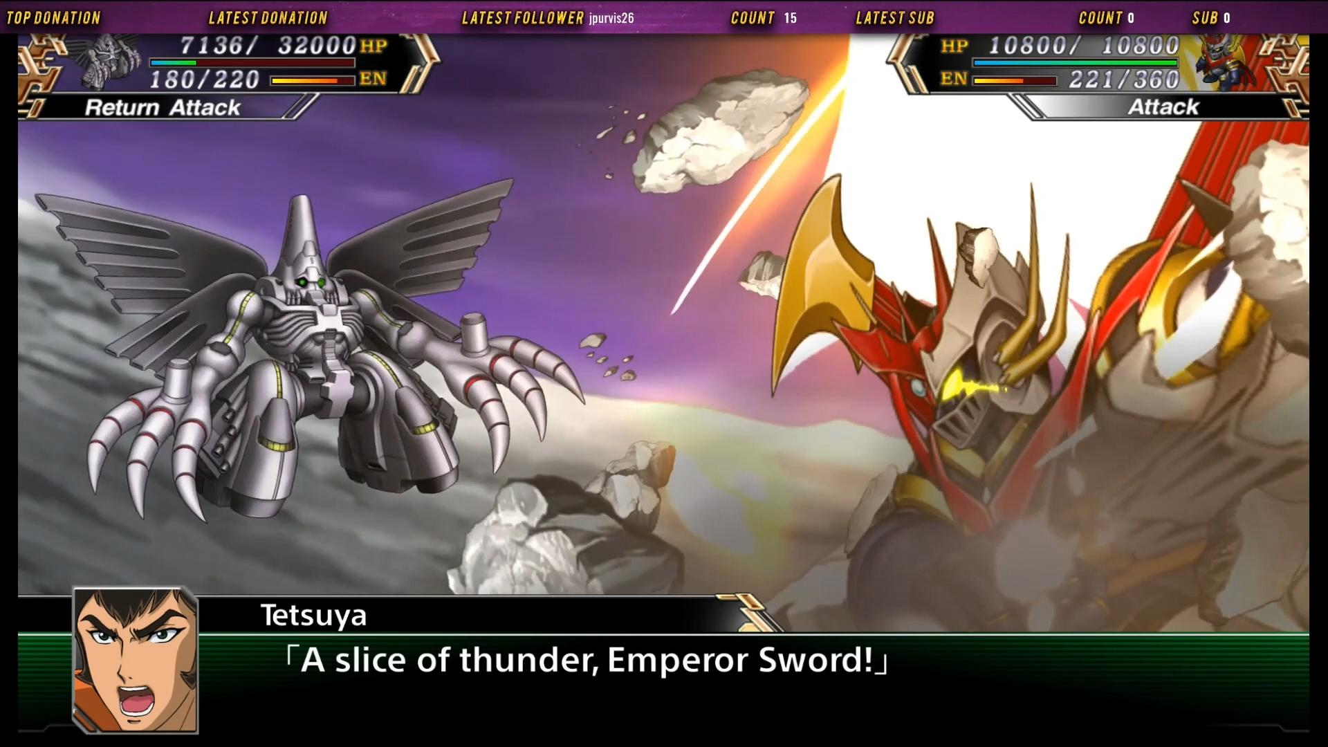 Mazin Emperor G attacks Dogatie