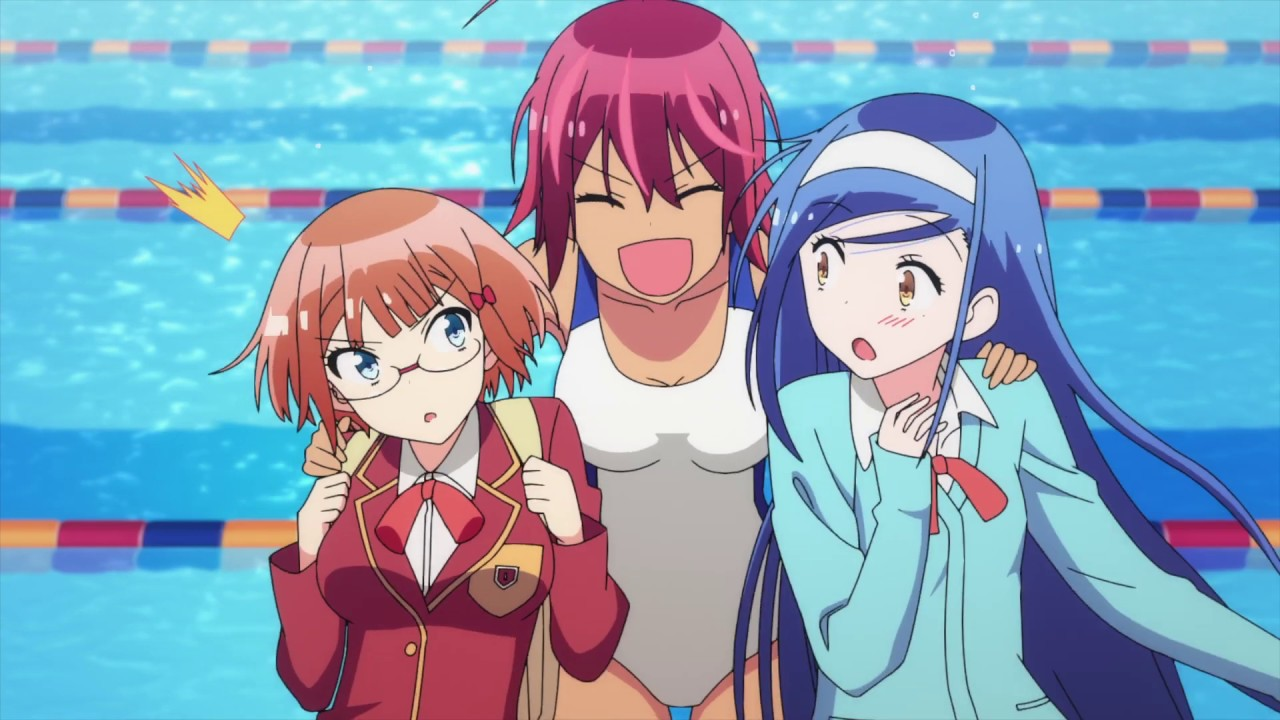 The three female leads of We Never Learn