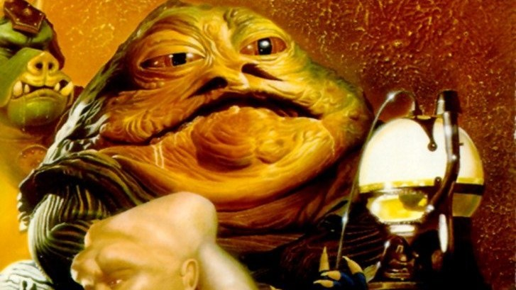 Cropped version of the cover of Tales of Jabba's Palace