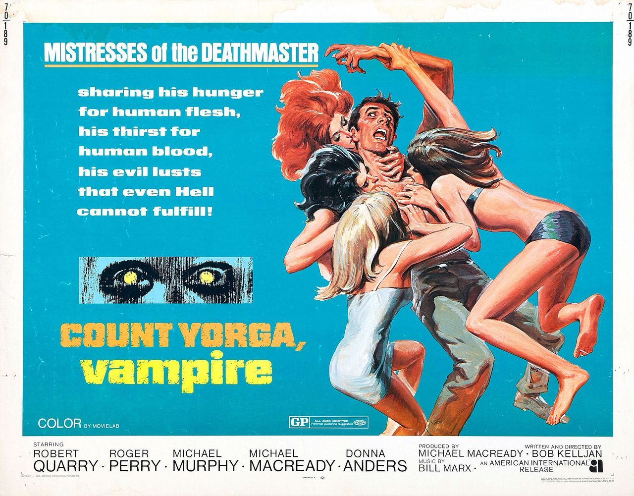 Movie poster for Count Yorga, Vampire