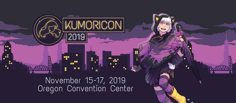Kumoricon 2019 Mascot and Dates