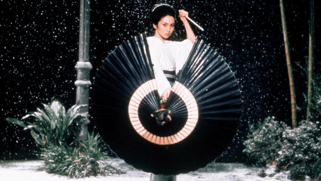 Meiko Kaji as Lady Snowblood