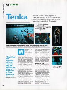 NextGen's preview of Tenka.