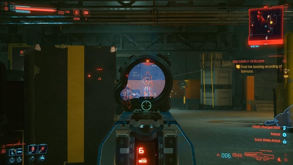 Some of Cyberpunk 2077's combat.