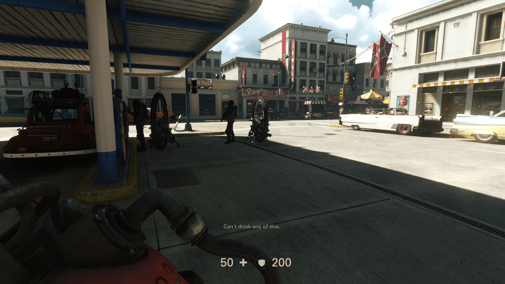 Nazis on Main Street USA in The New Colossus.