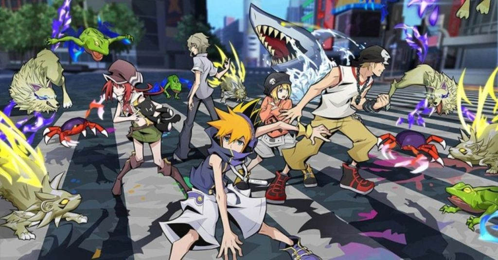 The Cast of The World Ends With You