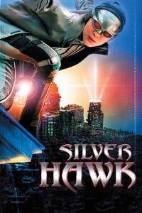 Movie Poster for Silver Hawk, featuring Michelle Yeoh in her superhero attire.
