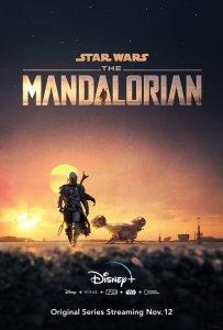 Disney Plus poster for The Mandalorian.
