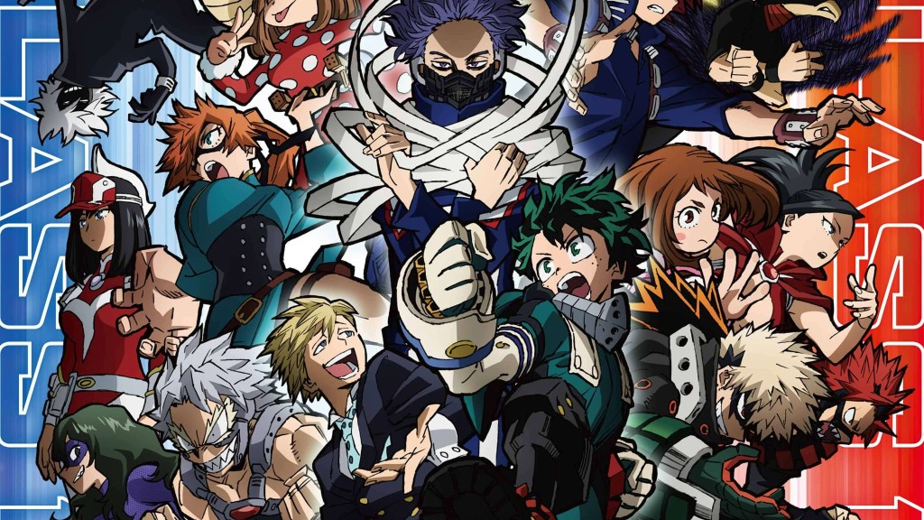 Promotional art for Season 5 featuring Class 1-A and 1-B