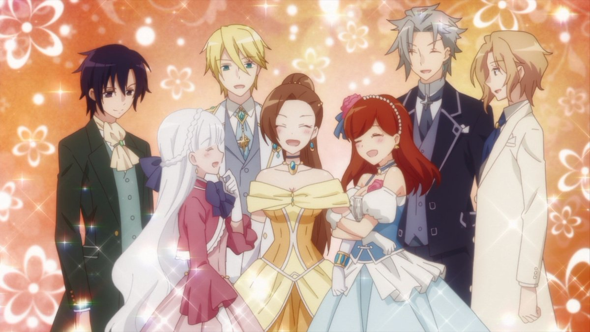 The cast of HameFura Season 2